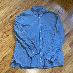 3/$12 John Varvatos Plaid Button Down Shirt